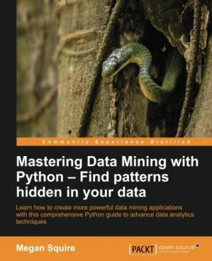 Εξώφυλλο βιβλίου Mastering Data Mining with Python