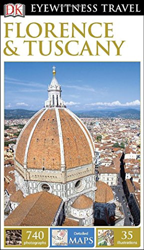 غلاف الكتاب DK Eyewitness Travel Guide: Florence & Tuscany