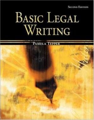 Book cover Basic Legal Writing for Paralegals