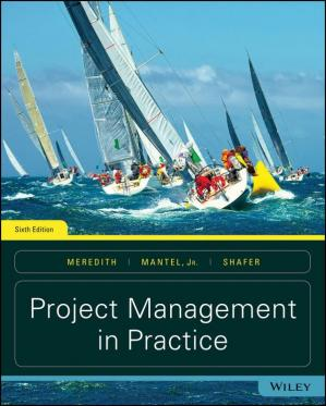 पुस्तक कवर Project Management in Practice