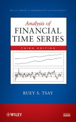 Portada del libro Analysis of Financial Time Series, Third Edition (Wiley Series in Probability and Statistics)