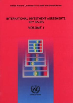 Copertina International Investment Agreements: Key Issues