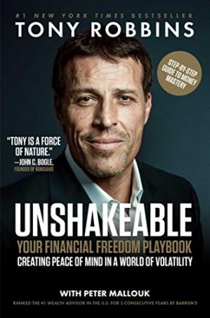 Book cover Unshakeable: Your Financial Freedom Playbook