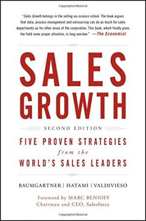 Copertina Sales Growth: Five Proven Strategies from the World's Sales Leaders