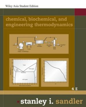 Εξώφυλλο βιβλίου Chemical, Biochemical, and Engineering Thermodynamics