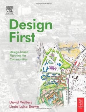 Обложка книги Design First: Design-based Planning for Communities
