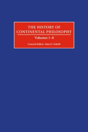 Couverture du livre The History of Continental Philosophy, 8 volumes