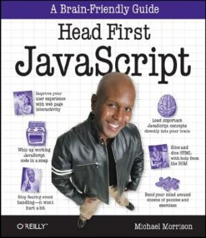 Book cover Head First JavaScript