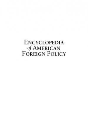 Book cover Encyclopedia of American Foreign Policy Edition 2.