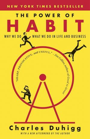 Book cover The Power of Habit: Why We Do What We Do in Life and Business