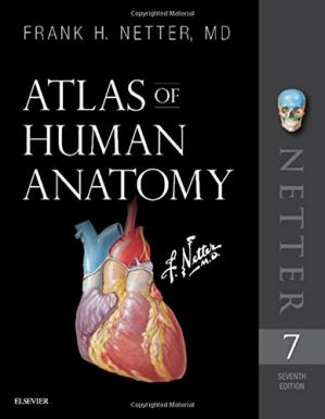 A capa do livro Atlas of Human Anatomy