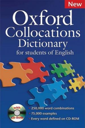 Book cover Oxford Collocations Dictionary For Students of English