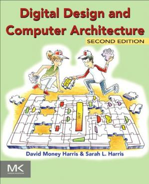 Book cover Digital Design and Computer Architecture, Second Edition