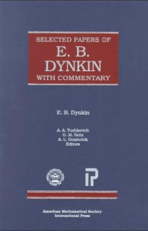 Couverture du livre Selected Papers of E. B. Dynkin with Commentary (Collected Works)