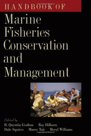 غلاف الكتاب Handbook of Marine Fisheries Conservation and Management