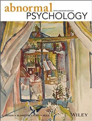 Book cover Abnormal Psychology