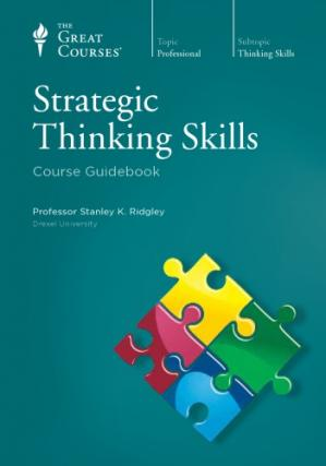 غلاف الكتاب Strategic Thinking Skills