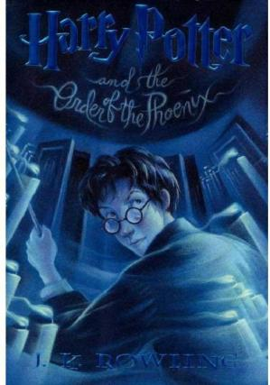 Book cover Harry Potter and the Order of the Phoenix