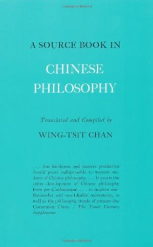 Copertina A Source Book in Chinese Philosophy