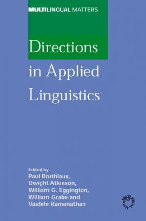 Обложка книги Directions in Applied Linguistics: Essays in Honor of Robert B. Kaplan (Multilingual Matters)