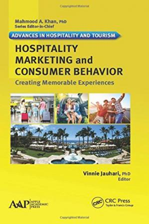 Book cover Hospitality marketing and consumer behavior : creating memorable experiences