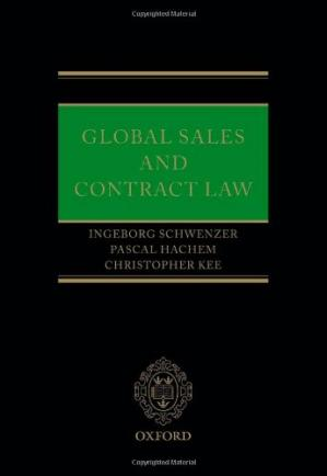 Book cover Global Sales and Contract Law