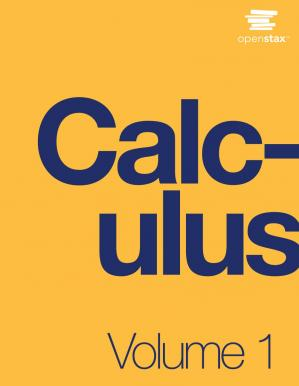 Book cover Calculus Volume 1