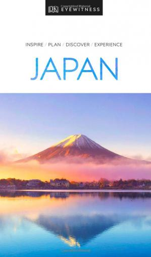 Book cover DK Eyewitness Travel Guide Japan