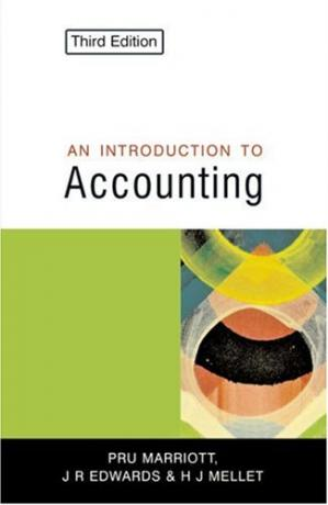Copertina Introduction to accounting