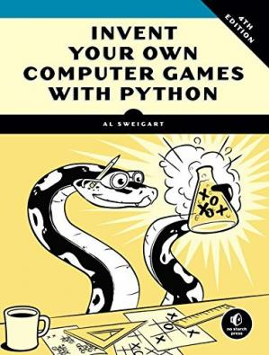 Book cover Invent Your Own Computer Games with Python