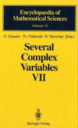 Portada del libro Several Complex Variables VII: Sheaf-Theoretical Methods in Complex Analysis