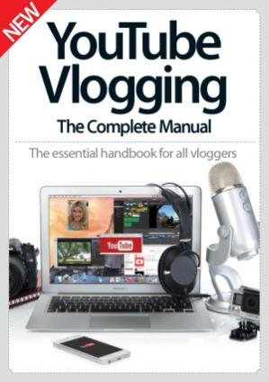 Book cover YouTube Vlogging The Complete Manual