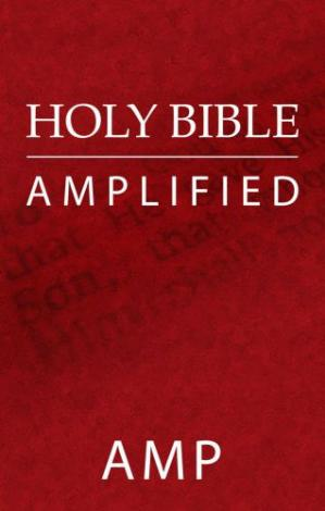 Book cover Holy Bible: Amplified Bible