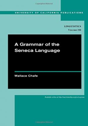 ปกหนังสือ A Grammar of the Seneca Language