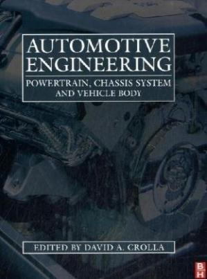 Book cover Automotive Engineering: Powertrain, Chassis System and Vehicle Body