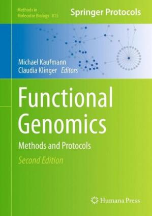 Portada del libro Functional Genomics: Methods and Protocols