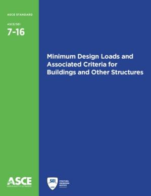 Portada del libro ASCE 7-16 Minimum Design Loads and Associated Criteria for Buildings and Other Structures