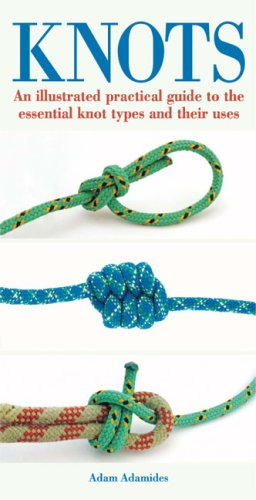 বইয়ের কভার Knots: An Illustrated Practical Guide to the Essential Knot Types and Their Uses