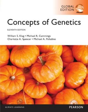 Book cover Concepts of genetics