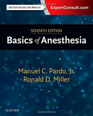 Book cover Basics of Anesthesia