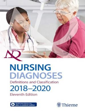 Book cover NANDA International, Inc. nursing diagnoses : definitions and classification 2018-2020