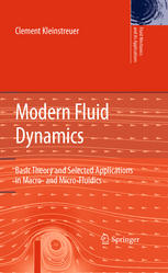 Copertina Modern Fluid Dynamics: Basic Theory and Selected Applications in Macro- and Micro-Fluidics