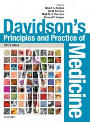 کتاب کی کور جلد Davidson's Principles and practice of medicine