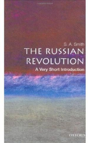 ปกหนังสือ The Russian Revolution. A Very Short Introduction
