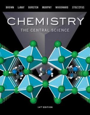 पुस्तक कवर Chemistry: The Central Science