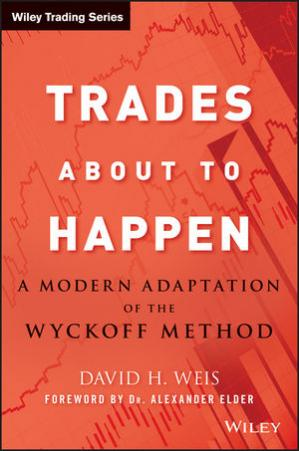 Book cover Trades About to Happen: A Modern Adaptation of the Wyckoff Method