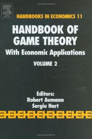 Book cover Handbook of game theory with economic applications,