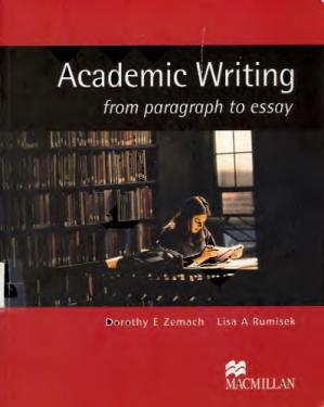 Book cover Academic Writing