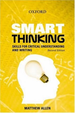 د کتاب پوښ Smart Thinking: Skills for Critical Understanding and Writing
