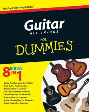 Portada del libro Guitar All-in-One For Dummies (For Dummies (Lifestyles Paperback))